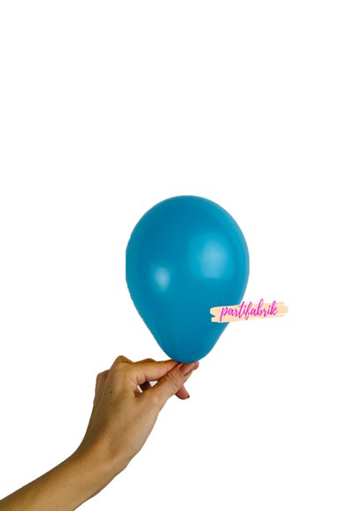Mini Pastel Balon Turkuaz 5 li